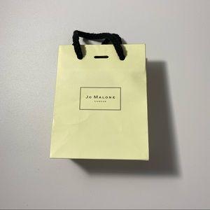 Jo Malone mini shopping bag